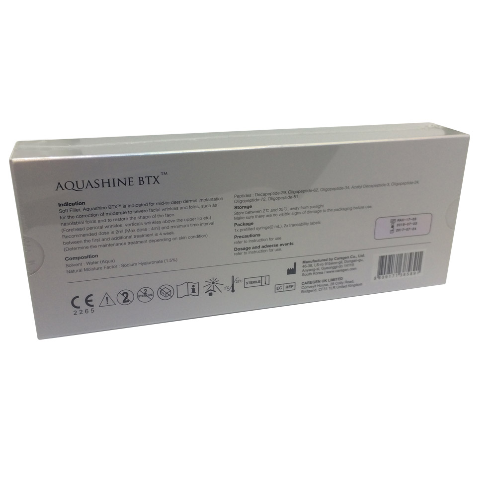 Aquashine Soft Filler BTX Back