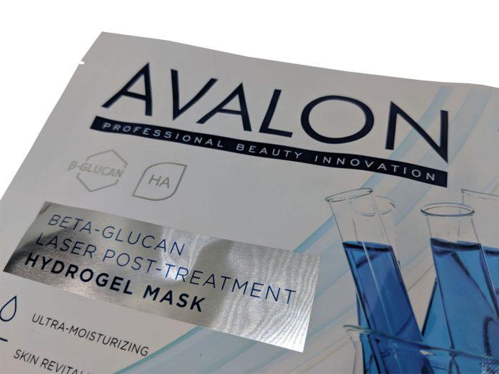 avalon hydrogel mask